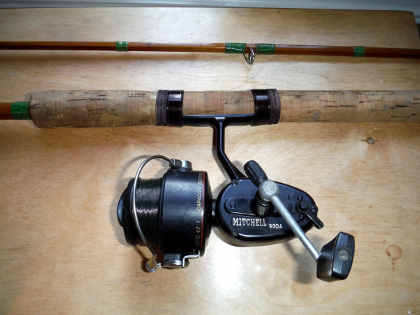Stepped up MK4 rod with Mitchell 300 reel