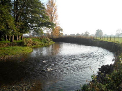 The Eyton beat on the River Lugg