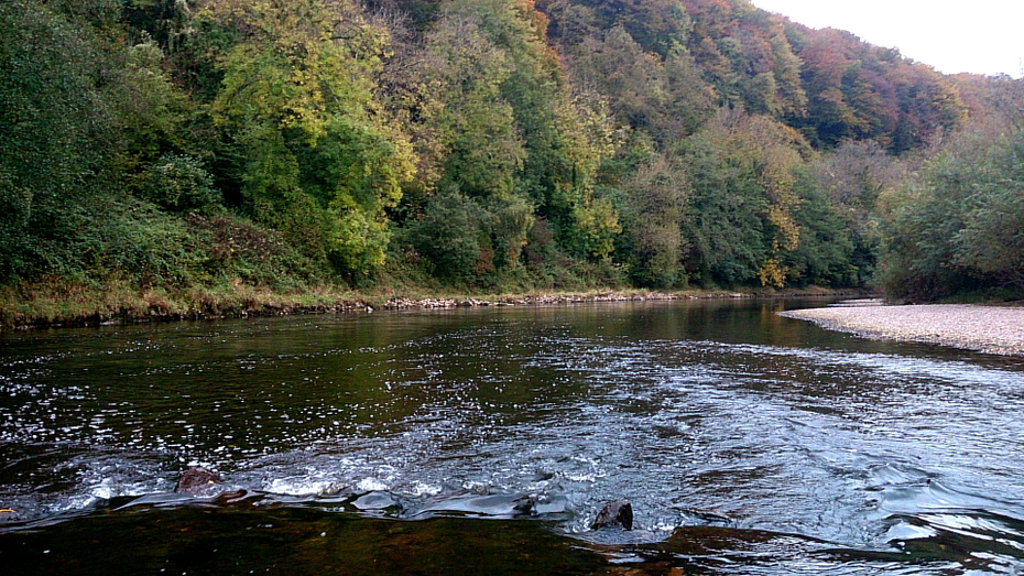 The Biblins Run and Crib on the Severn Sisters beat of the lower Wye in October