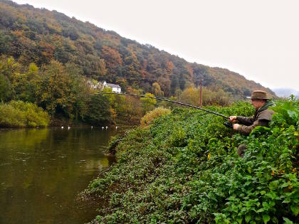 Pike fishing should start on the Wye next month