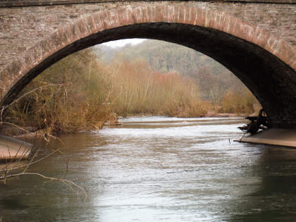 Monnow at Skenfrith