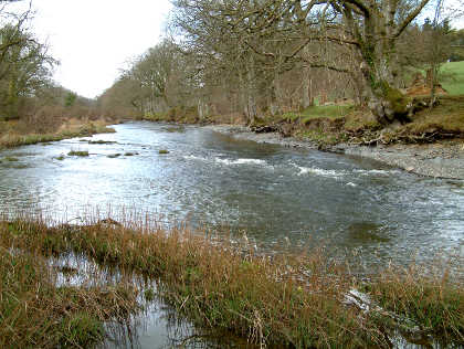 ...and at a more fishable winter level