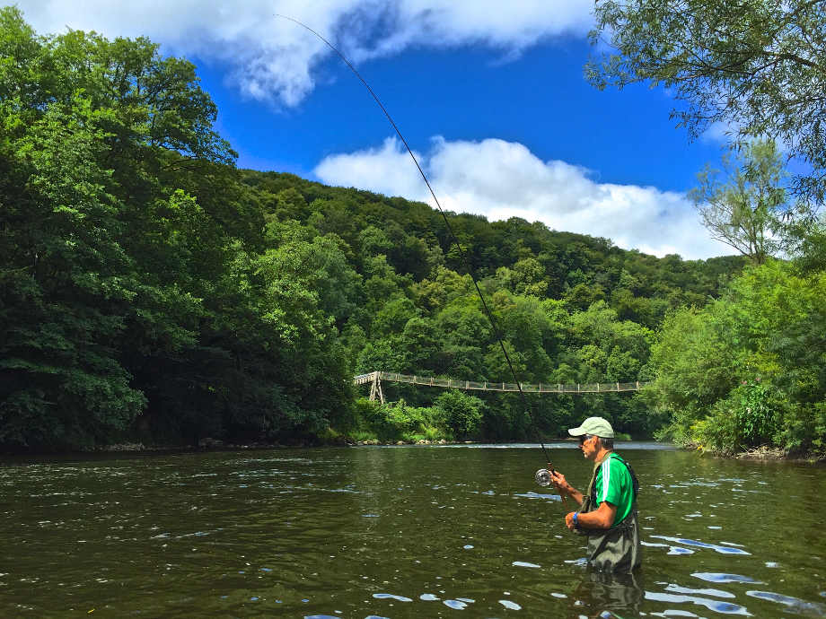 Fishing on the Wye
