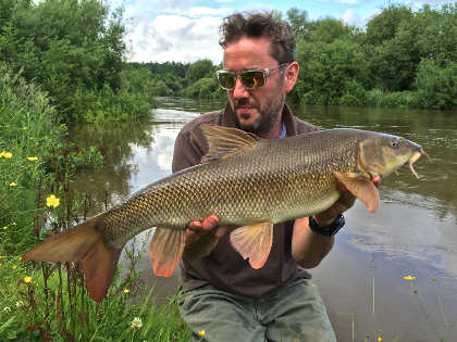A June barbel from the Wye