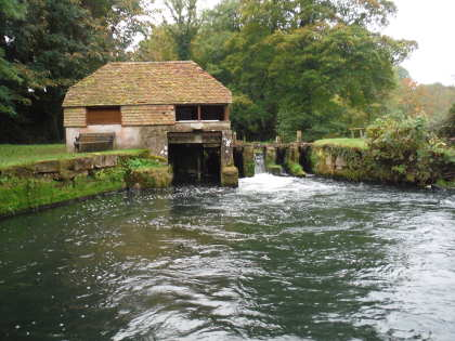 The Hatch Pool on the Wiltshire Avon