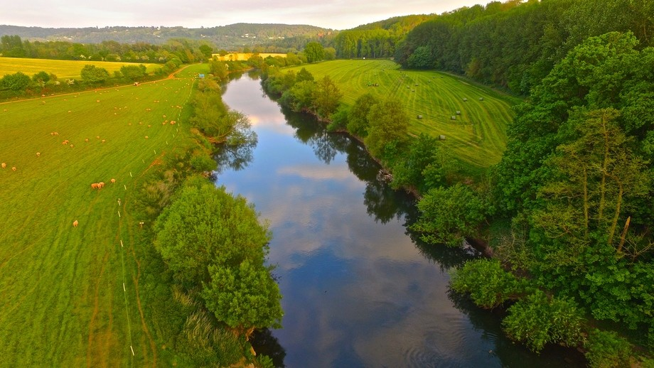 The Wye in July